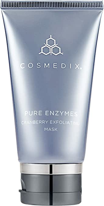 CosMedix Pure Enzymes Cranberry Exfoliating Mask for Unisex - 2 oz, 312.98 Grams
