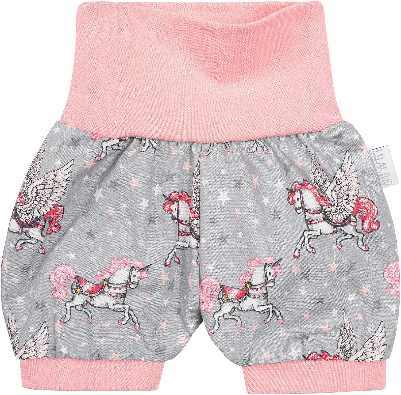 """50//56-98//104 Lilakind/"""" Baby Kinder Shorts Sommerhose Kurze Hose Jersey Schildkr/öten Hellblau Blau Gr Made in Germany"""