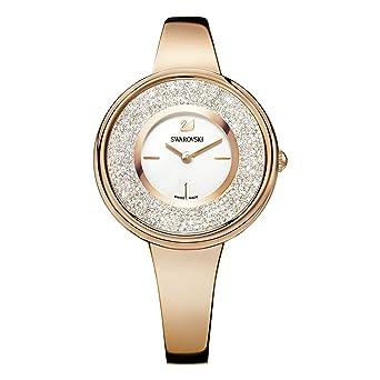 Swarovski Reloj Análogo clásico para Mujer de Cuarzo con Correa en Acero Inoxidable 5269250: Amazon.es: Relojes