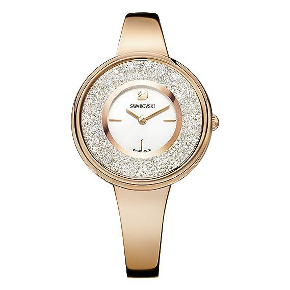 0bfa6eac8f7c Swarovski Reloj Análogo clásico para Mujer de Cuarzo con Correa en Acero  Inoxidable 5269250  Amazon.es  Relojes