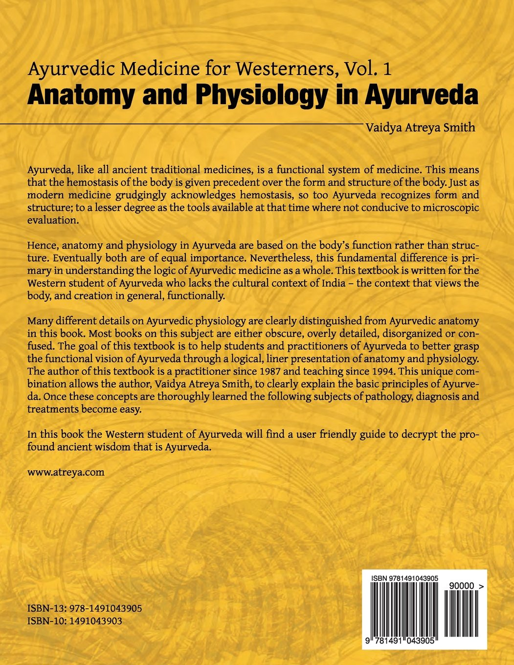 Ayurvedic Medicine for Westerners: Anatomy and Physiology in ...