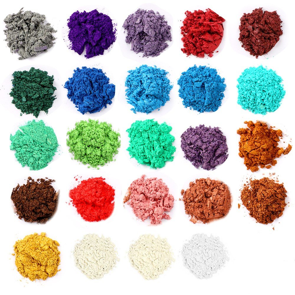 Mica Powder, Making Colorants, Handmade Soap Making Tools, Powder Pigments, Soap Liquid, 36 Colors, Resin Dyestuffs Candle Making, Eye Shadow, Blush, Nail Art, Resin Jewelry, Artist, Craft Projects