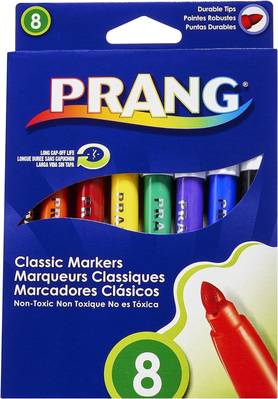 Prang Classic Art Markers, Bullet Tip, Assorted Colors