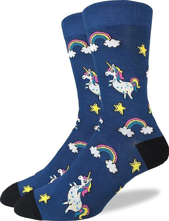 Good Luck Sock Men's Unicorns Crew Socks