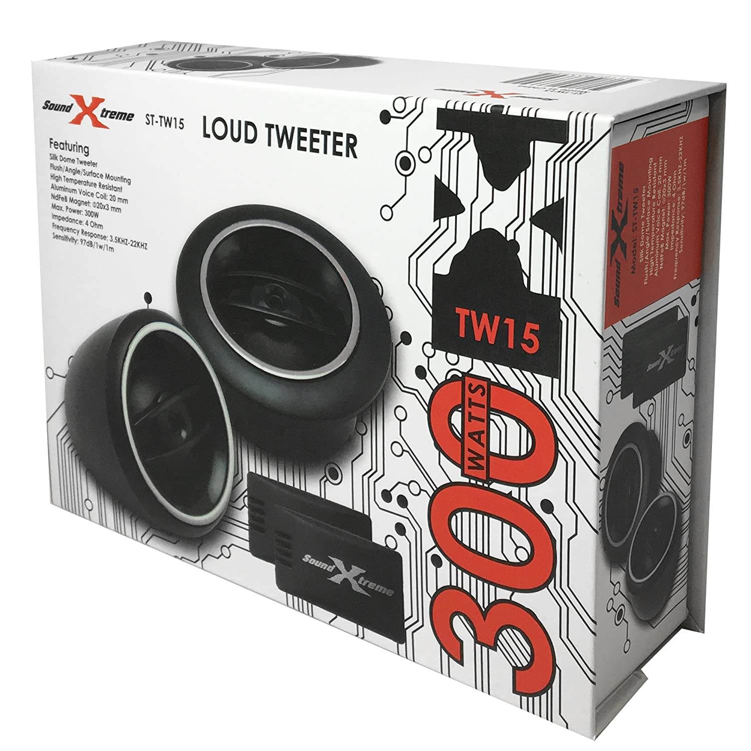 SoundXtreme ST-TW15 LOUD Tweeters 1
