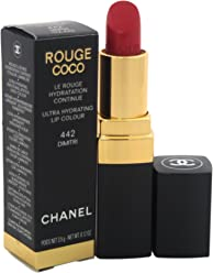 Chanel Rouge Coco Ultra Hydrating Lip Color # 442 Dimitri Lipstick for Women, 0.12 Ounce