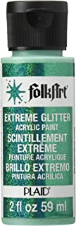 product image for FolkArt Extreme Glitter Acrylic Paint in Assorted Colors (2 oz), 2794, Emerald Green