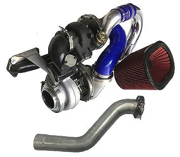 Fuente de alimentación dps-diesel DPS-59 - 12 V-tts480 - 64 S480 Twin Turbo Kit (64 mm Turbo con S480 Turbo): Amazon.es: Coche y moto