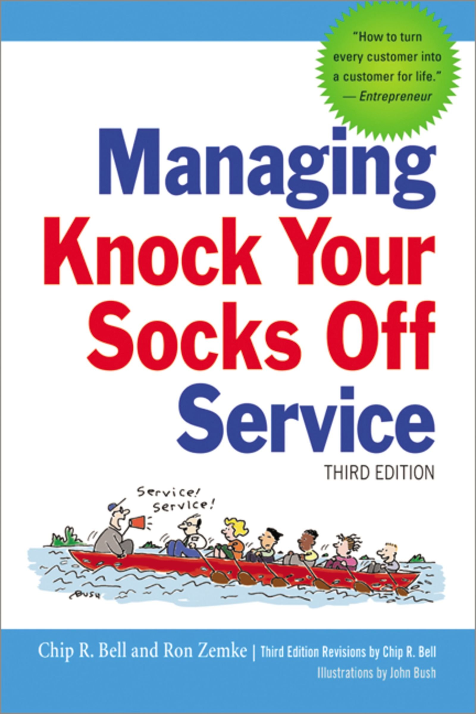Managing Knock Your Socks Off Service: Amazon.es: Bell, Chip ...