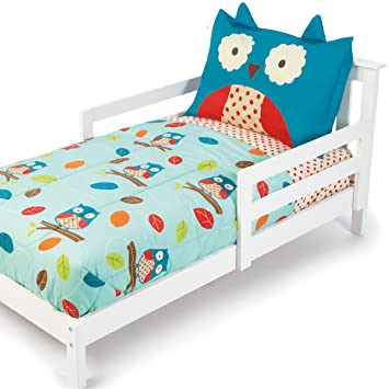 Superior Skip Hop 4 Piece Toddler Bedding Set, Owl