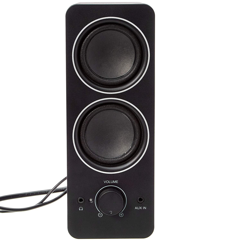 Basics AC Powered Multimedia External Speakers