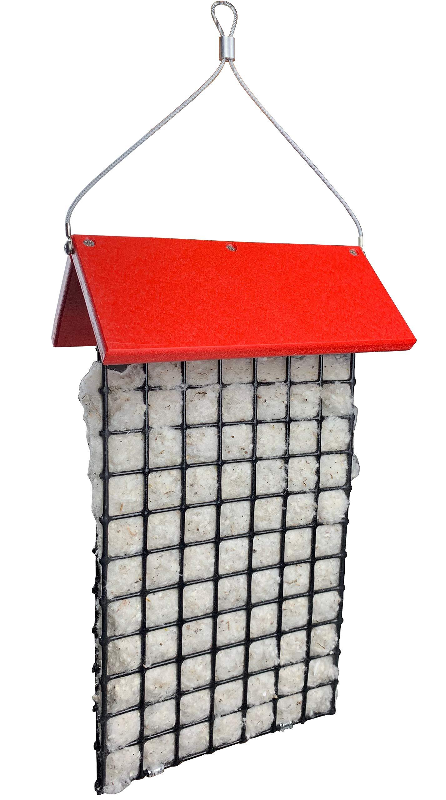 JCs Wildlife Deluxe Hummingbird Nester Builder with Weather Guard Roof