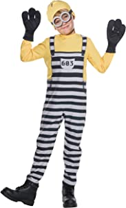 Rubie's Despicable Me 3 Child's Jail Minion Tom Costume, Large