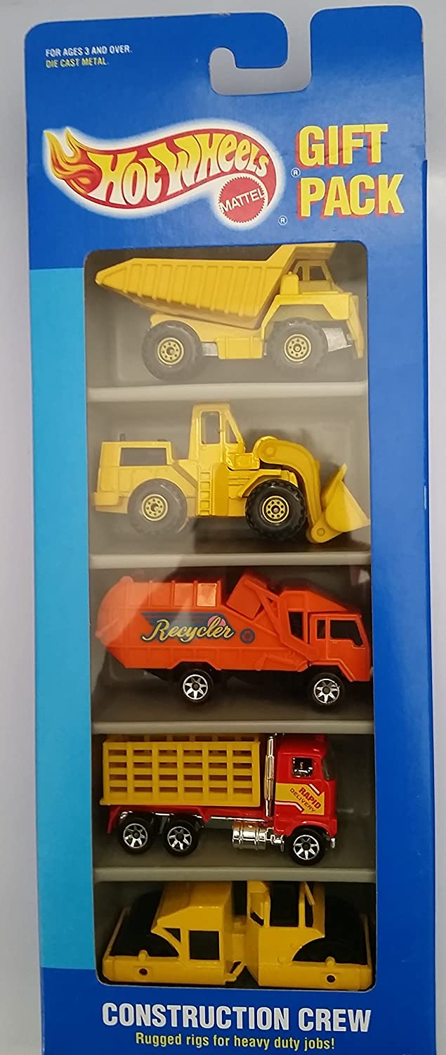 Hot Wheels Construction Crew Gift Pack B00438WEIG
