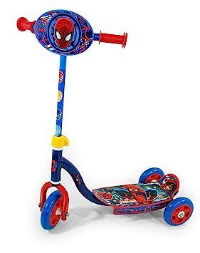 Ultimate Spiderman - Patinete con tres ruedas para niño (Saica 9423): Amazon.es: Juguetes y juegos