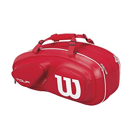 6042216e00890 Amazon.com   Wilson Tour Red Collection Tour V 6 Pack   Sports ...