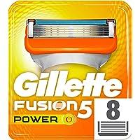 Gillette Fusion 5 Power Navulmessen voor heren, verpakking met 8 reservemesjes
