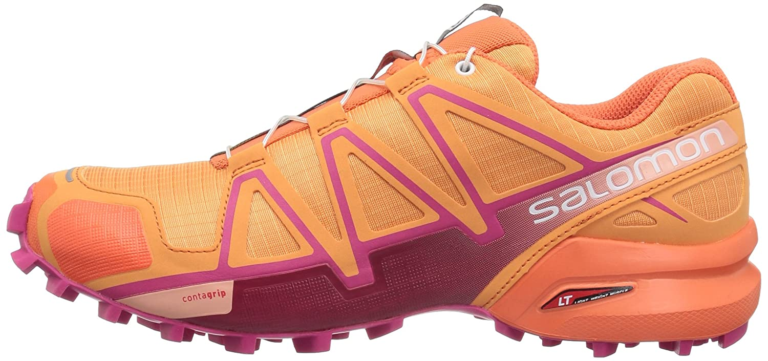 Salomon Women's Speedcross 4 W Trail Runner B073JXDCF4 12 B(M) US|Bird Off Paradise