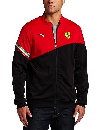 5cef9875aaf PUMA Apparel Mens Scuderia Ferrari Track Jacket
