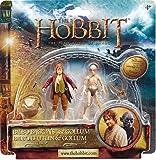The Hobbit : The Desolation of Smaug – Bilbon Sacquet & Gollum – 2 Figurines 9 cm (Import Royaume-Uni)