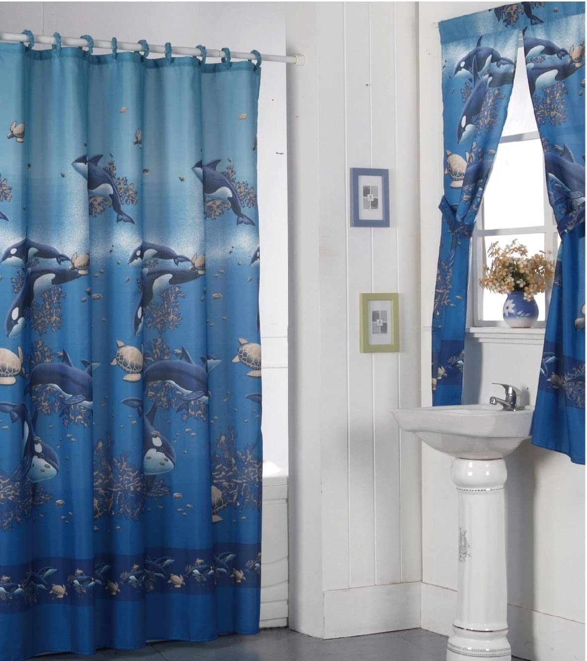 Best Bathroom Window And Shower Curtain Sets