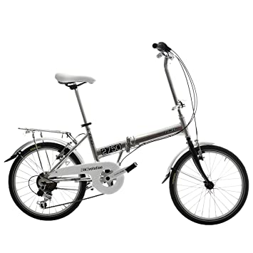 BIKEVOLUTION Bicicleta Plegable 6 V 20 Pulgadas Aluminio Bike evolution