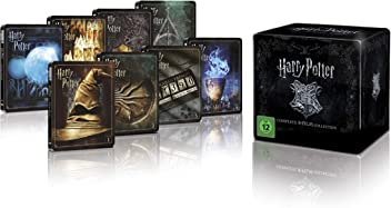 Harry Potter 4K Steelbook Complete Collection [Blu-ray] [Limited Edition]