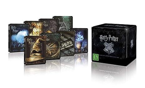Harry Potter 4K Steelbook Complete Collection steelbook 8xBlu-Ray ...