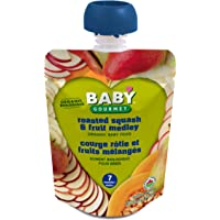 Baby Gourmet Roasted Squash Fruit Medley, 12 Count