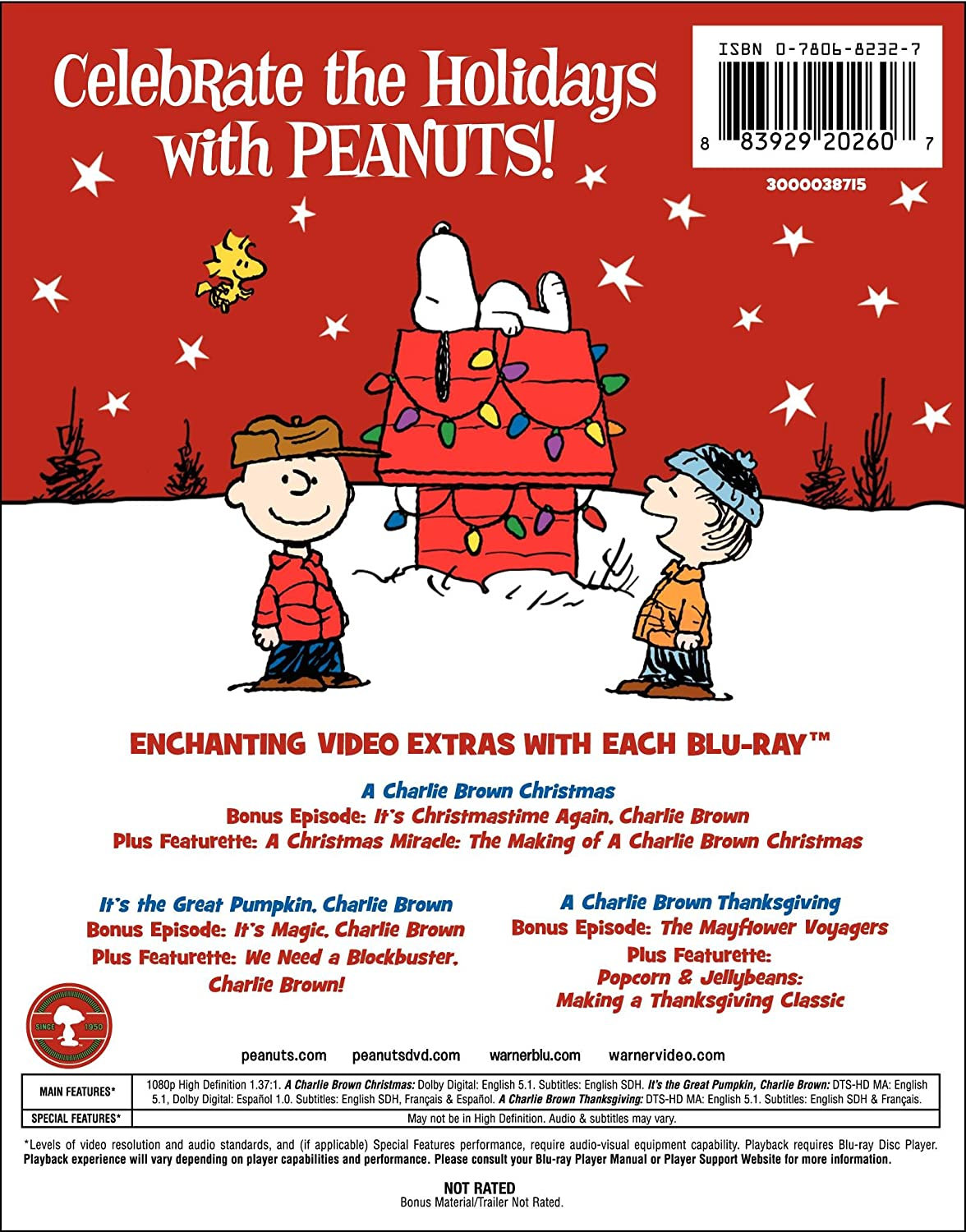 Amazon.com: Peanuts Holiday Collection (It's the Great Pumpkin ...