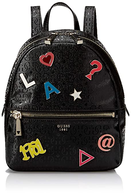 GUESS, mochila TABBI BACKPACK BLACK HWSP71 81320, para mujer: Amazon.es: Zapatos y complementos