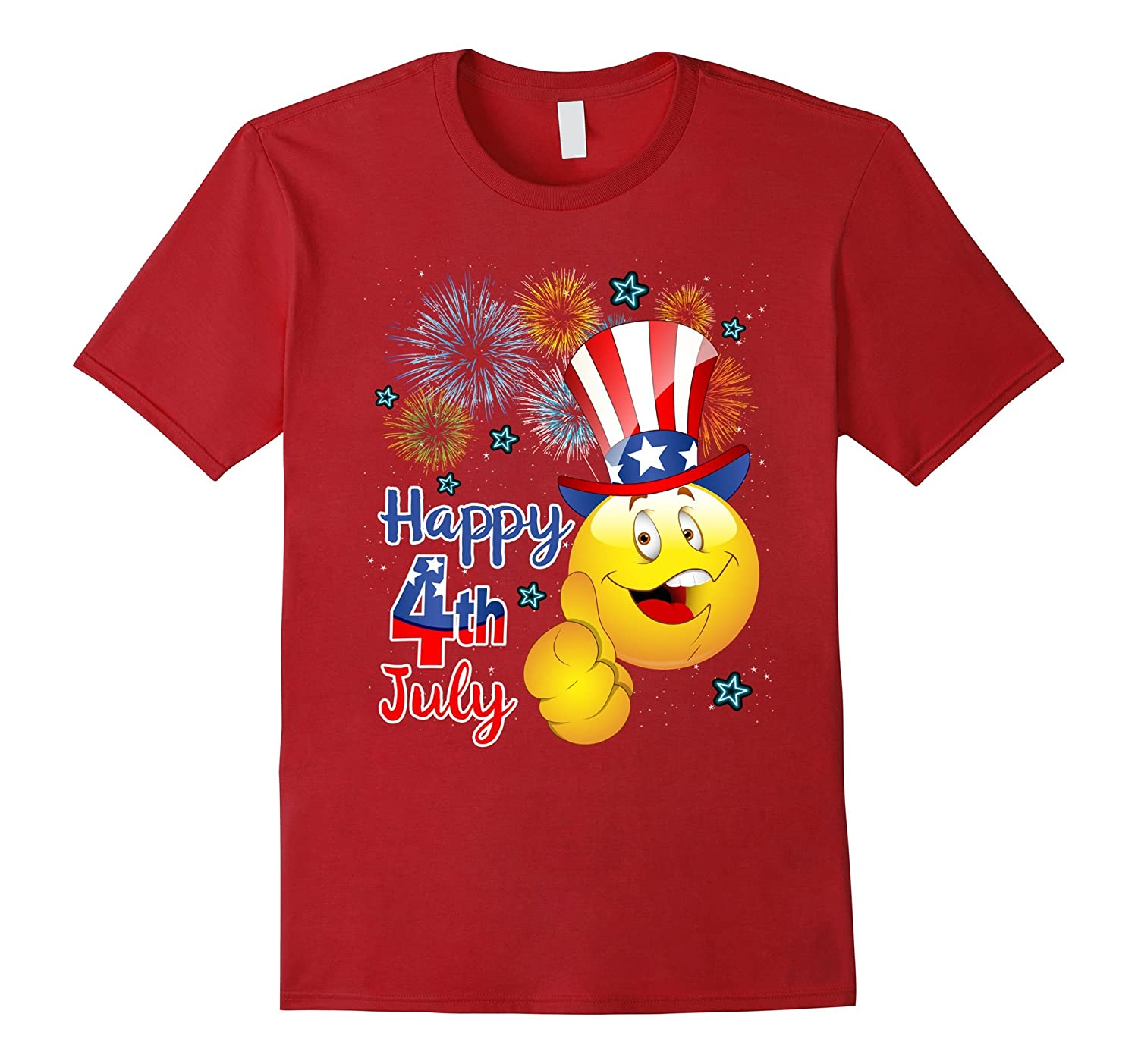 38dd4d9d21b4 Amazon.com: Funny Independence Day Shirt Happy 4th July T Shirt: Clothing