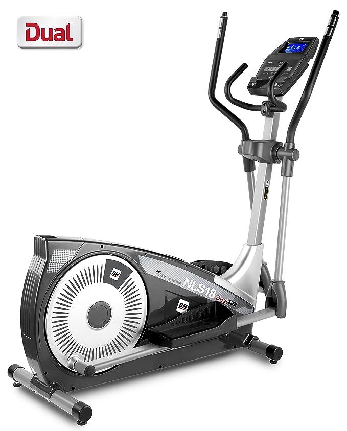 BH Fitness - Bicicleta elíptica NLS18 Dual Plus: Amazon.es: Deportes y aire libre