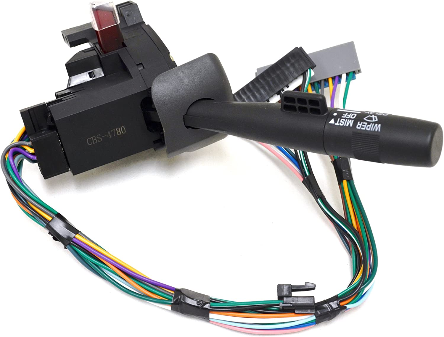 Combination Switch Windshield Wiper Hazard Warning PT Auto Warehouse CBS-4780 Dimmer without Cruise Control Turn Signal