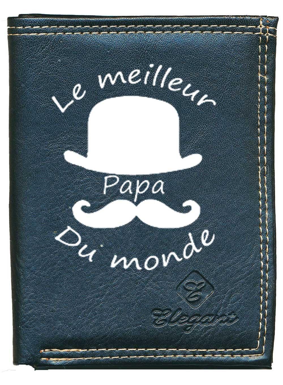 Cartes papiers Papa Fete des Peres Porte Monnaie Pochette Etui Petit Portefeuille Homme