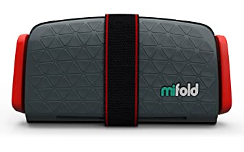 Amazon.com : mifold Grab-and-Go Car Booster Seat, Slate Grey : Baby