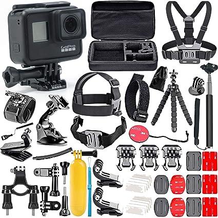 Amazon.com: Kit de accesorios de acción GoPro Hero 7 negro ...