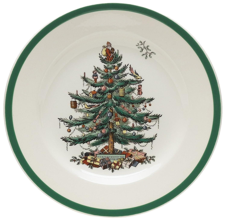 Amazon  Spode Christmas Tree Salad Plates, Set Of 4: Spode Christmas  Tree China: Salad Plates