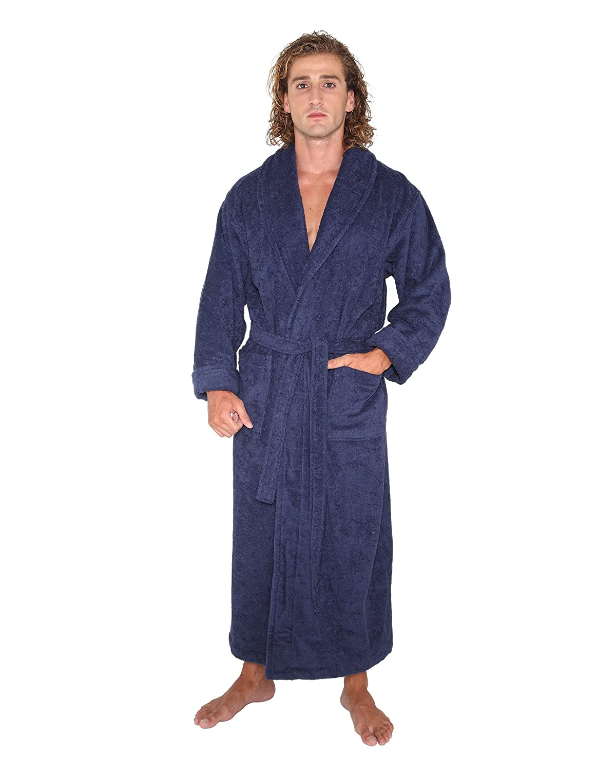 Arus Bathrobe Optimal, Navy Blue, M