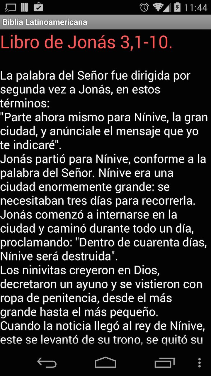 Biblia Latinoamericana Spanish: Amazon.es: Appstore para