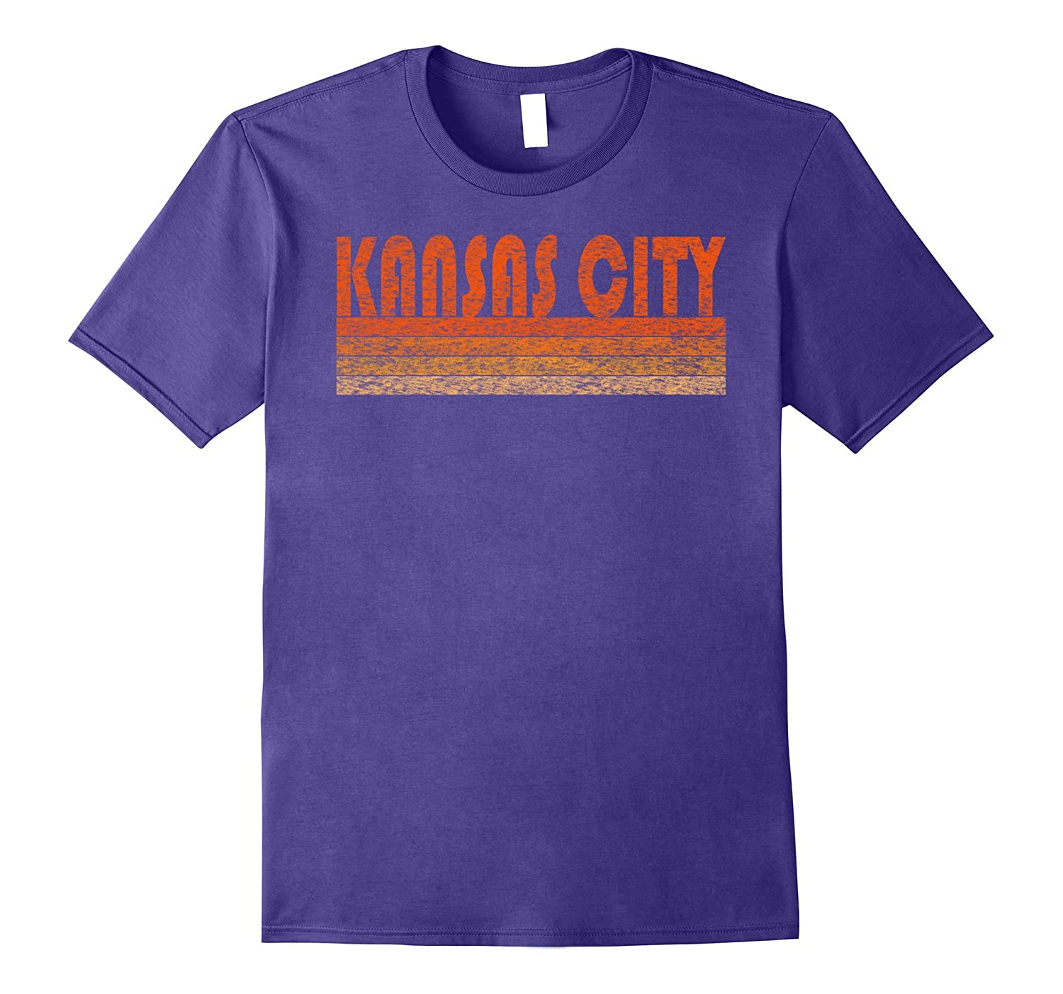 Vintage Retro Kansas City T-Shirt-TH