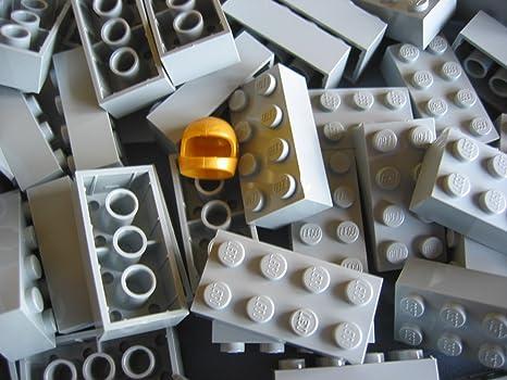 Lego city pietre nella rari neuen grigio chiaro con