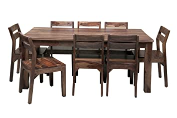 0d52007a68a14 Image Unavailable. Image not available for. Colour  Induscraft 8 Seater  Dining Table