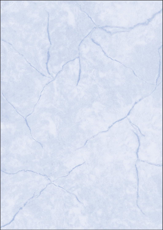 Sigel DP639 Struktur-Papier Briefpapier Granit blau, A4, 100 Blatt ...