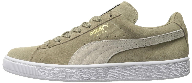 Puma Suede High-Top Classic+, Herren High-Top Suede Sneaker Chinchilla/Puma Weiß 830ad6