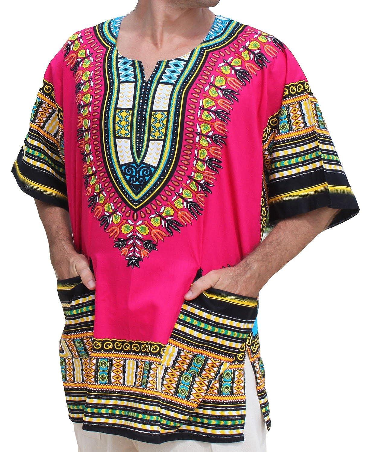 RaanPahMuang - Camiseta africana unisex de algodón, varios colores variant15060AMZ