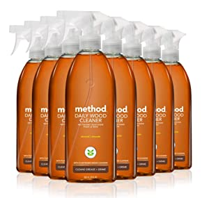 Method Wood for Good Daily Wood Cleaner, 28 Fl. Oz (Pack of 8)