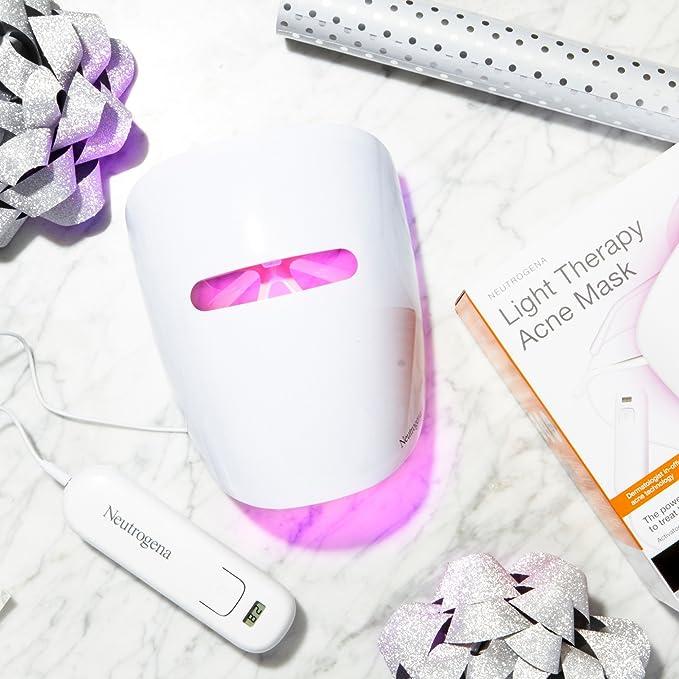 Neutrogena Máscara para acné con terapia de luz, 1.0 KT: Amazon.es: Belleza