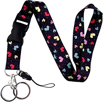Chrysler Lanyard Keychain Holder with Snap Buckle