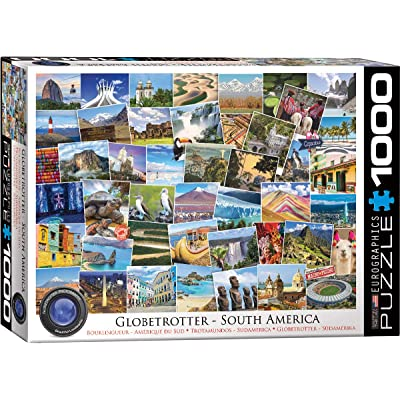 EuroGraphics South America - Globetrotter 1000Piece Puzzle: Toys & Games [5Bkhe0804095]